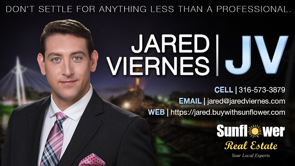 Wichita Real Estate Insider - Jared Viernes, Real Estate Agent, Combat Veteran, Military Relocation Professional, Real Estate Negotiation Expert, Digital Marketing Expert